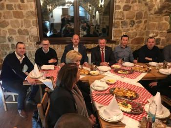 Radna večera: Višković podržao Ćurića u trci za gradonačelnika