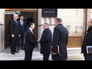 Višković: Podrška Vlade Trebinju u punom kapacitetu (VIDEO)