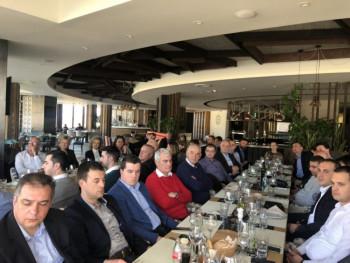 Ćurić u Panorami: Sastanak sa gradskim rukovodiocima