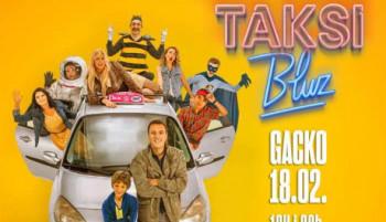 Najava: Projekcija filma 'Taksi bluz' u Gacku