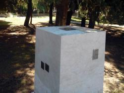 U Trebinju oštećena skulptura