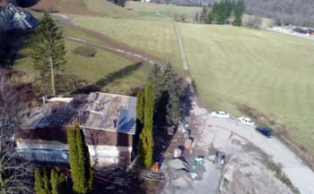 Руина на Сутјесци прераста у музејско здање