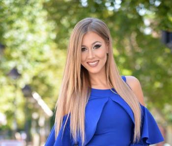 Gačanka Dragana Tešević na izboru za mis Evrope 2019.