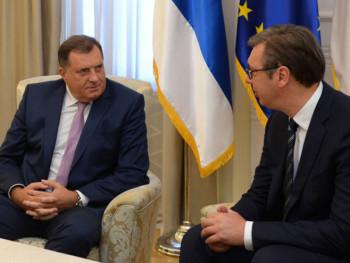 Додик код Вучића: Јединствено о важним питањима за опстанак српског народа