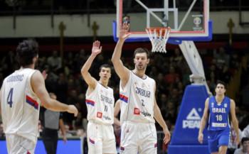 Србија силовита против Израела за овjеру пласмана на Свjетско првенство