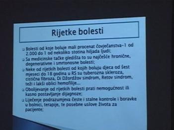 Foča: Predavanje o rijetkim bolestima