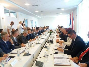 U Beogradu zajednička sjednica vlada Srpske i Srbije