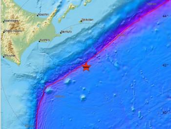 Snažan potres kod ostrva Hokaido