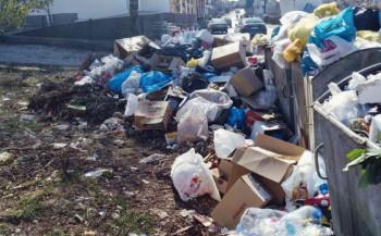 Bileća: Ulice pune smeća, radnici već sedmi dan u štrajku