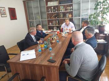 Foto vijest: Ministar Vjekoslav Petričević posjetio Bileću