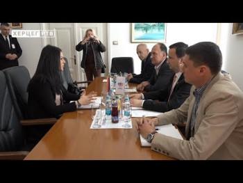 Ministarka porodice, omladine i sporta u posjeti Trebinju (VIDEO)