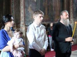 Francuski humanitarac primio pravoslavlje u Visokim Dečanima