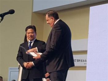 Џанг: Постоји велики потенцијал за економску сарадњу БиХ и Кине