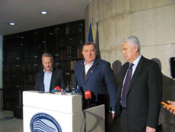 SNSD, SDA i HDZ o formiranju vlasti