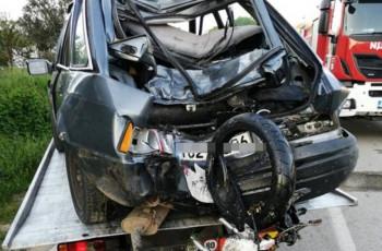 Povrijeđen motociklista u Todorićima