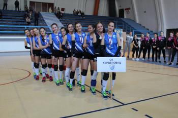 Odbojkašice 'Hercegovca' vicešampionke Republike Srpske