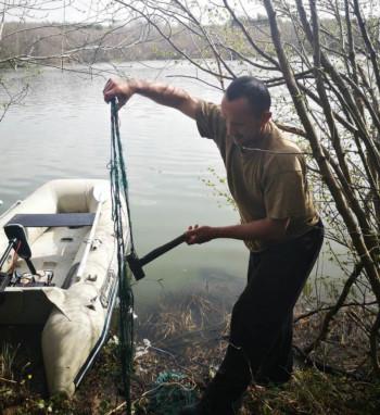 Ribočuvarska služba zaplijenila mrežu krivolovcima