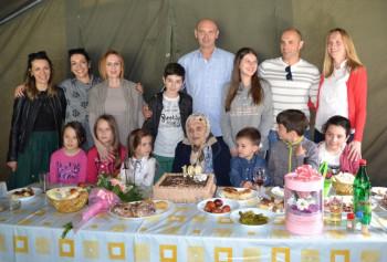 Najstarija Nevesinjka proslavila stoti rođendan