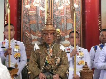 За краља Тајланда круна од 7 килограма