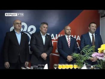 Trebinje: Milan Kovač novi predsjednik Gradskog odbora Ujedinjene Srpske (VIDEO)