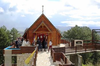 Nevesinje: Proslavljena krsna slava Svetog Georgija na Vjenčacu