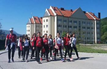 Dvadeset pet studenata iz Foče pješice na poklonjenje moštima Ostroškog Čudotvorca