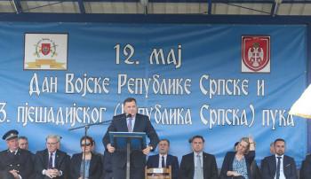 Dodik: Treći pješadijski puk spreman da brani srpsku slobodu