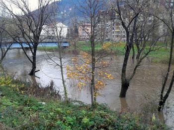 Фоча: Водостаји у благом порасту