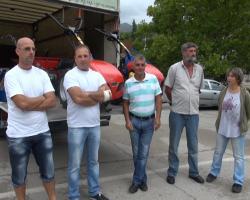 Пољопривредне машине за расељена лица у Требињу