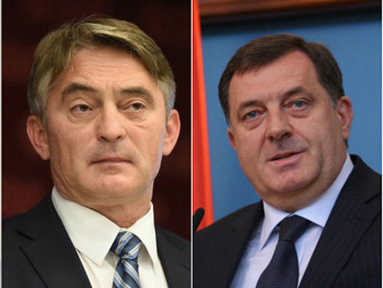 Komšić podnio krivičnu prijavu protiv Dodika