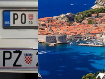 Studentkinji izgrebali auto u Dubrovniku, mislili da je iz Srbije