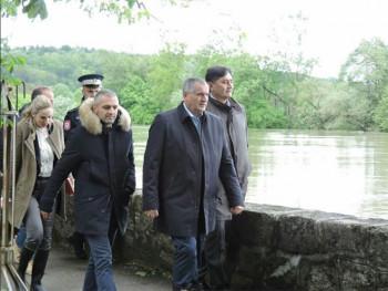 Вишковић: Још нема података о штети од поплава