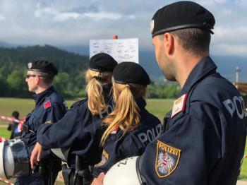 Pomen ustašama uz jake policijske snage