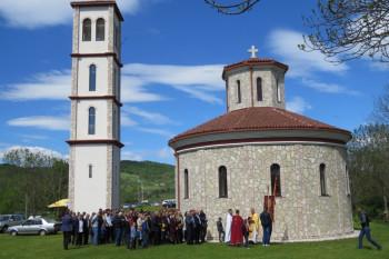 Proslavljena krsna slava na Odžaku kod Nevesinja