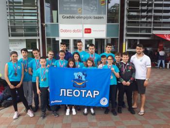 Пливачима Леотара 52. медаље у Бањалуци