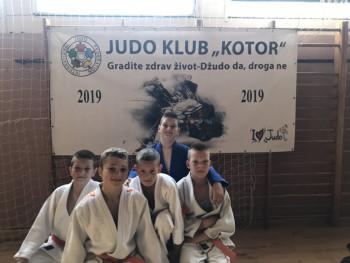 Џудисти Леотара освојили три медаље у Котору