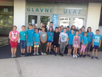 Пливачима Леотара 18. медаља на такмичењу 'Младе наде 2019.' у Никшићу