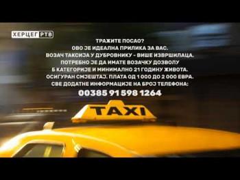 Oglas za posao u Dubrovniku (VIDEO)