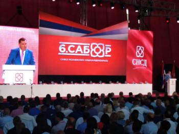 Milorad Dodik ponovo izabran za lidera stranke