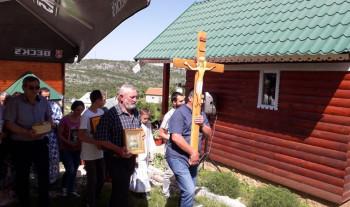 Прослављена слава и освештан конак манастира Светог Јована Kронштатског на Kоритима