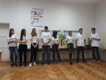 Učenici JU Centra srednjih škola Trebinje polaznici Ljetne škole demokratije