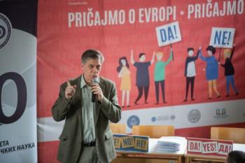 Vigemark na javnoj debati u Nevesinju
