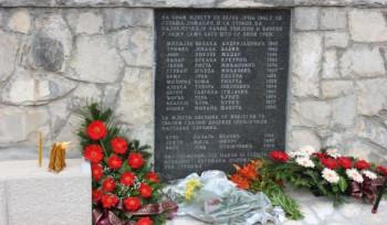Sjećanje na stradalnike Pridvoračke jame