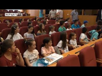 Dobrodošlica za djecu iz Kosovske Kamenice (VIDEO)