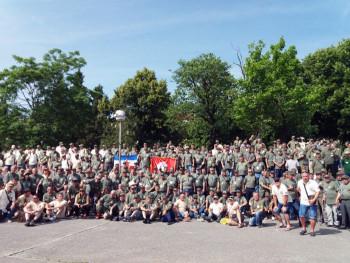 Више од 600 некадашњих питомаца стигло у Билећу