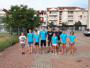 Plivačima 'Leotara' pet medalja na Vidovdanskom kupu