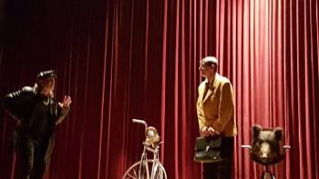 Bileća: Izvedena predstava 'Biciklistički ustanak u Crnoj Gori'