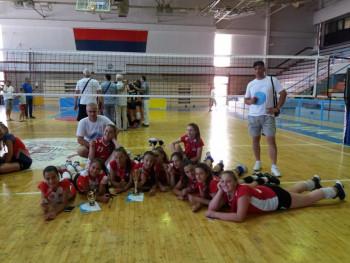 Mlade odbojkašice 'Veleža' druge na Vidovdanskom turniru u Trebinju