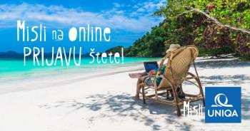 Za prijavu štete putem UNIQA Online servisa  isplata u roku od 48h!