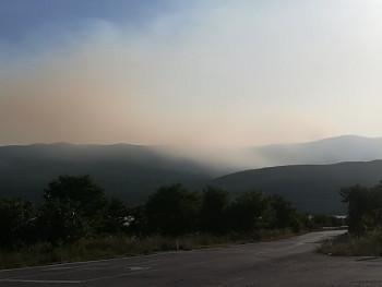 Vjetar proširio požar ka Mirilovićima